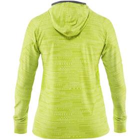 NRS H2Core Silkweight Hættetrøje Damer, gul